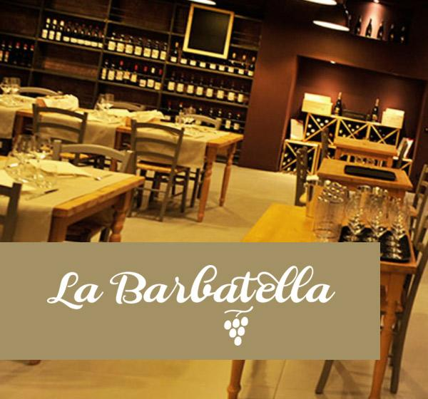 <span>La Barbatella</span><i>→</i>